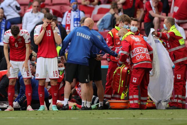 Denmark's team doctor has confirmed Christian Eriksen suffered a cardiac arrest