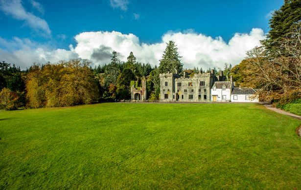 The estate in South Skye includes Armadale Castle