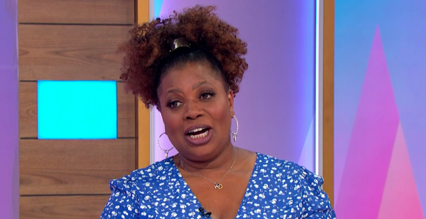 Brenda Edwards said she wants 'an emotional connection with somebody' not fumbling on a date