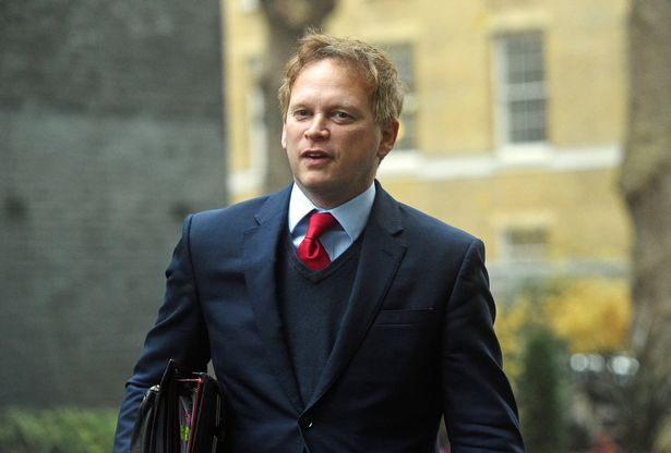 Transport Secretary Grant Shapps announced the changes