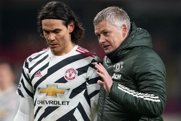 Ole Gunnar Solskjaer hopes Edinson Cavani will sign a new contract at Manchester United