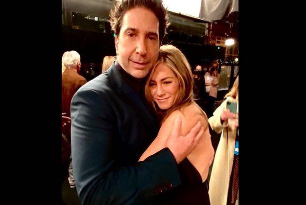 David Schwimmer Jennifer Aniston