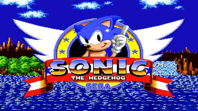 Sonic the Hedgehog 1991 Sega Mega Drive Genesis