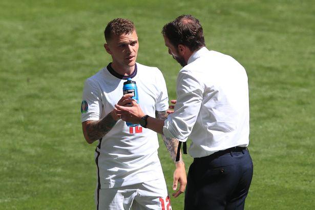 "Gareth Southgate hailed ""defensive animal"" Kieran Trippier after the win vs Croatia"