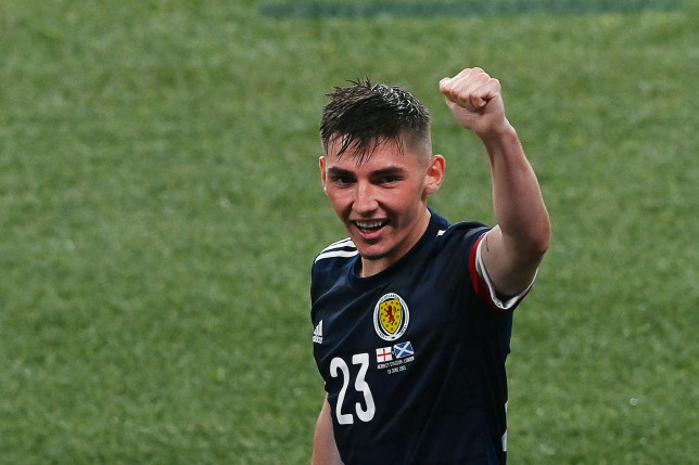 Billy Gilmour impressed during Scotland's draw with England at Wembley