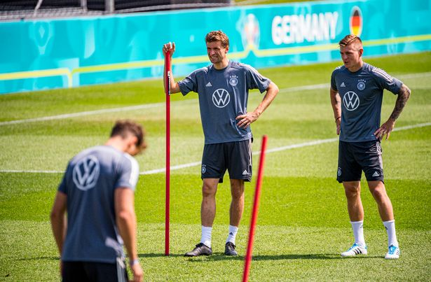 Toni Kroos and Thomas Muller are set to be two of the penalty takers
