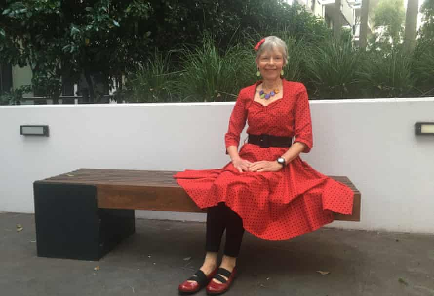 Diane Moloney at her home in Melbourne