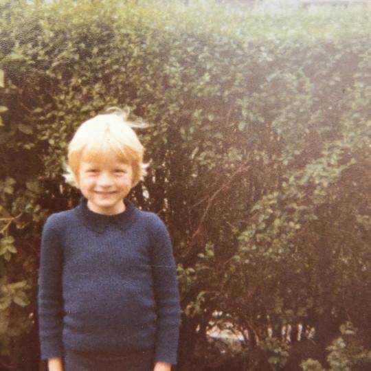 Matt Cain as a child
