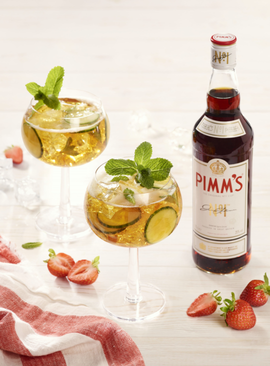 Pimm's No. 1 spritz