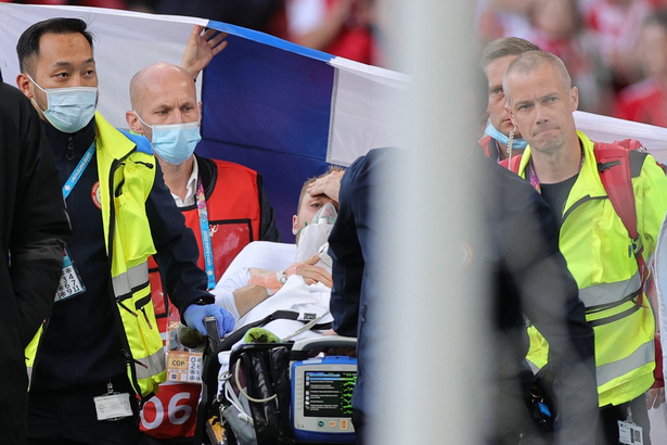 Christian Eriksen collapsed on the pitch as Denmark took on Finland at Euro 2020