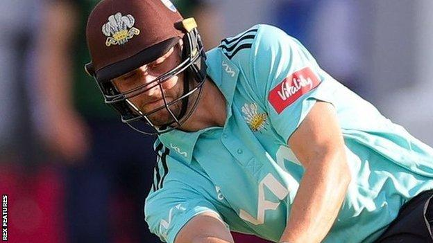 Surrey's Will Jacks took just 15 balls to reach his 50 at Lord's, smashing eight fours and three sixes