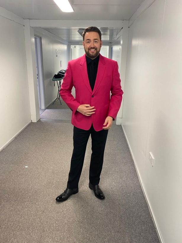 Jason Manford after losing weight