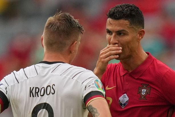 Cristiano Ronaldo spoke to Toni Kroos after Portugal's Euro 2020 defeat to Germany