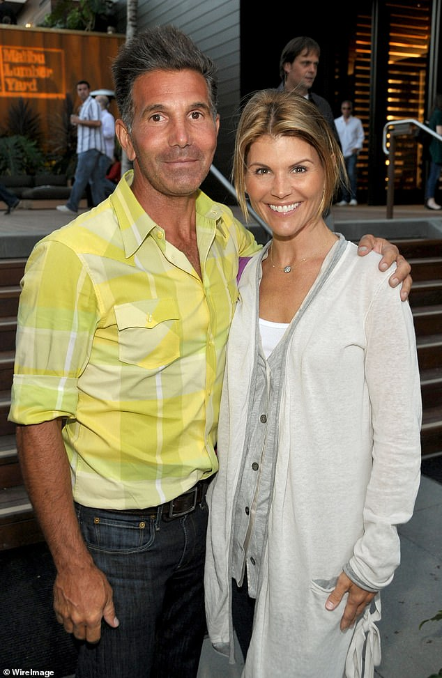 After a judge recently ruled that they were allowed to travel to Mexico this month: Lori Loughlin and her husband Mossimo Giannulli were said to be 'excited' to finally be taking the trip; seen here in 2009