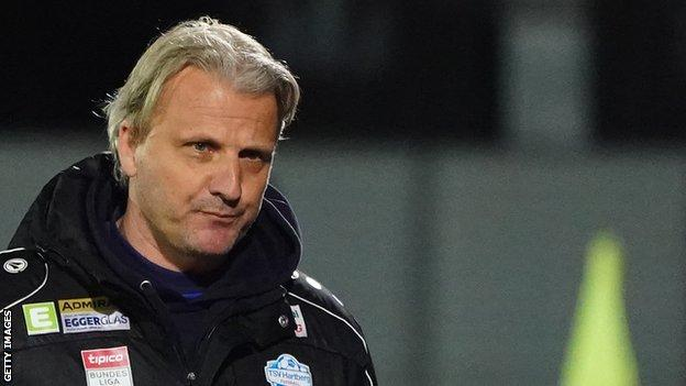 Markus Schopp guided TSV Hartberg to seventh in the Austrian Bundesliga last season