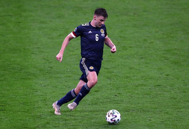 Tierney impressed for Scotland in Friday's draw at Wembley