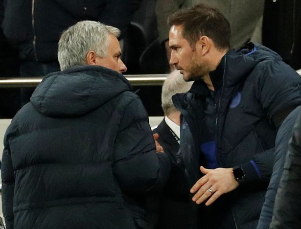 Jose Mourinho has praised Frank Lampard for his part in Chelsea's Champions League win