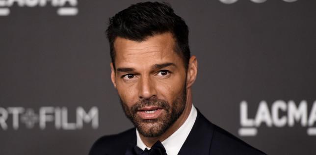 Ricky Martin on red carpet