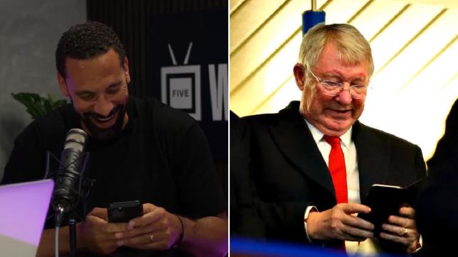 Rio Ferdinand trolls Sir Alex Ferguson and reveals legendary Manchester United manager's prediction for England vs Scotland