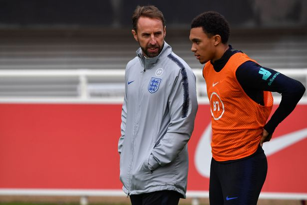 Gareth Southgate has had to hold discussions with Trent Alexander-Arnold amid media reports