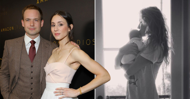 Suits star Patrick J Adams delivered his baby girl with wife Troian Bellisario in their car