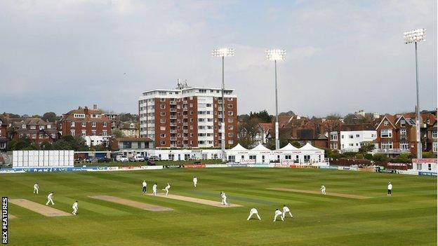The 1st Central County Ground, Hove