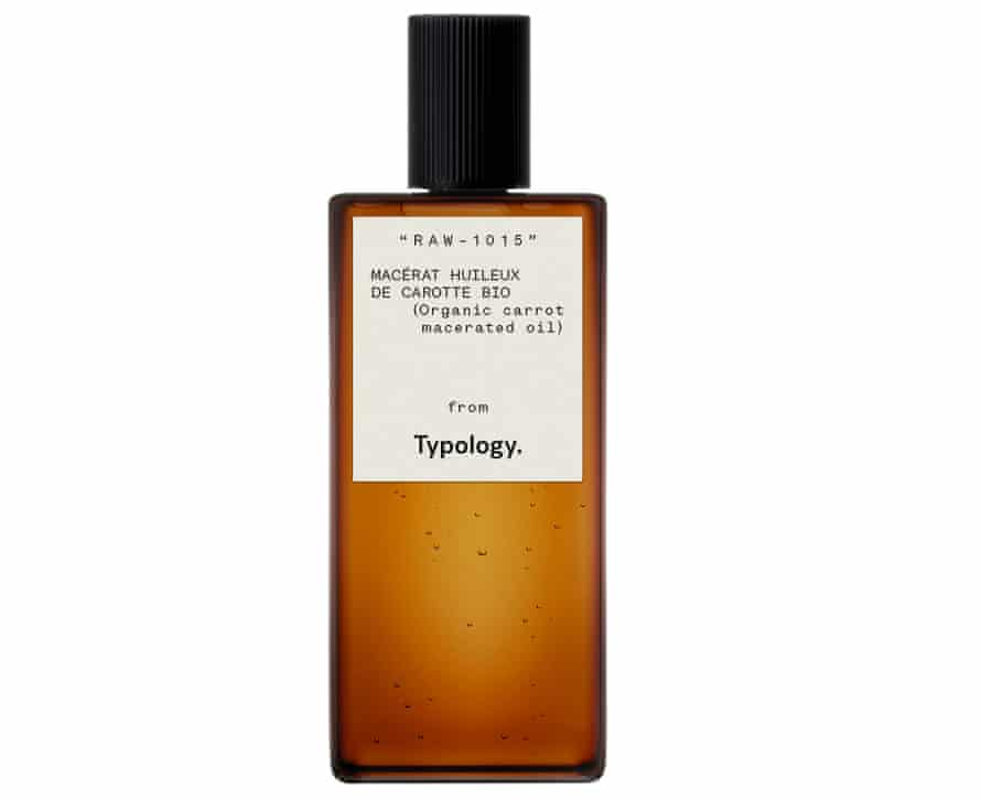 Typology Macerated Organic Carrot Oil