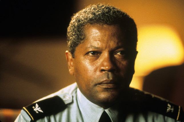 Clarence Williams III in The General's Daughter
