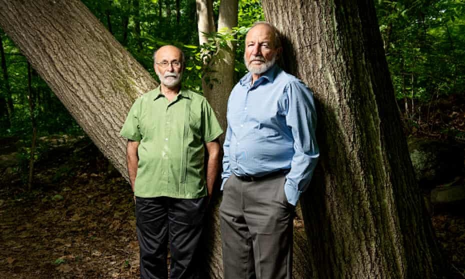 Robert, left, and Michael Meeropol, who took their adoptive parents' surname.