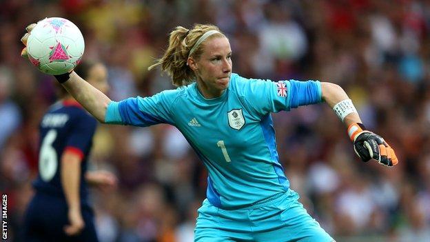 Goalkeeper Karen Bardsley