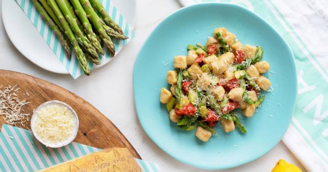 veggie gnocnhi on a plate