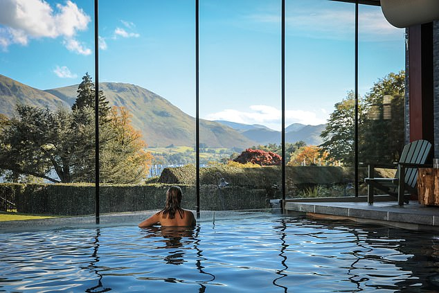 Glide through the cool, open waters of Ullswater on a wild swim, just one of several bracing activities laid on at the Lake District's Another Place hotel