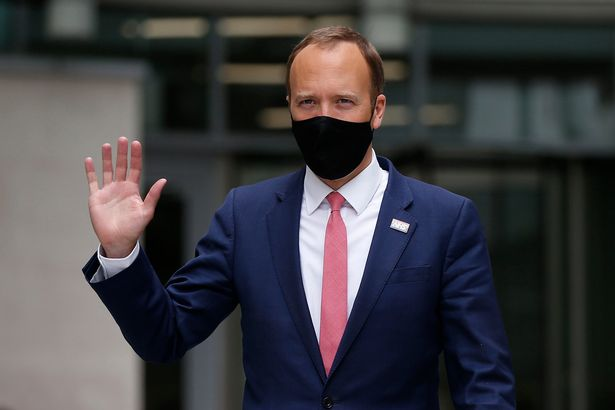 Health Secretary Matt Hancock warned that vaccines had 'severed but not broken' the link between Covid cases and hospitalisations