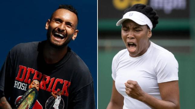 Venus Williams explains decision to partner with Nick Kyrgios at Wimbledon