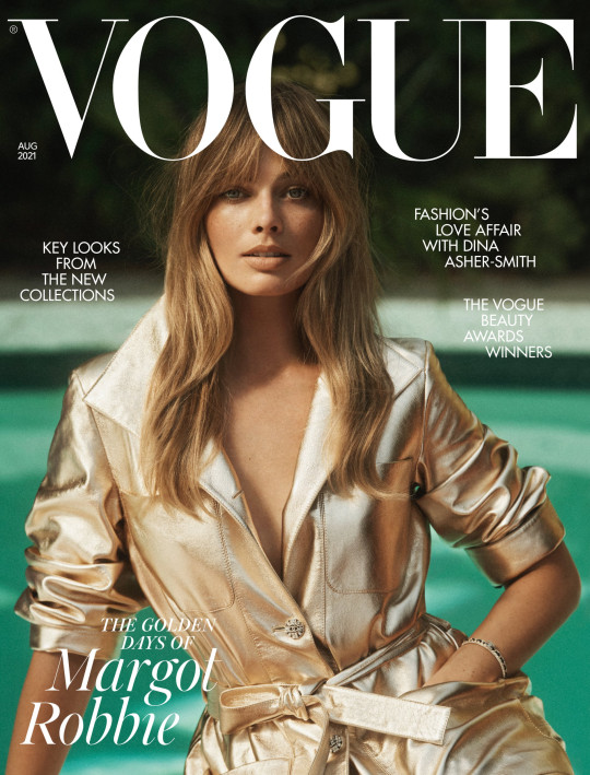 ***CREDIT LINE TO RUN IN FULL: See the full feature in the August issue of British Vogue available via digital download and on newsstands Friday 2nd July. https://www.vogue.co.uk/ ***ARTICLES MUST LINK BACK TO: https://www.vogue.co.uk/news/article/margot-robbie-vogue-interview ***PHOTOGRAPHER CREDIT: Lachlan Bailey ***IMAGES FOR ONLINE USE CAN BE DOWNLOADED HERE (COVER IMAGE MUST BE SHOWN ALONGSIDE INSET IMAGE): https://we.tl/t-rbvqbSMIFJ ***VIDEO AVAILABLE TO EMBED ONLY HERE: https://www.youtube.com/watch?v=9HJouV3uT-M ***IMAGES & VIDEO CANNOT BE CUT, CROPPED OR ALTERED*** ***USAGE: ONE USE ONLY***