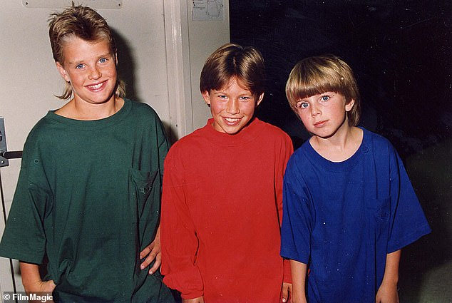 Squad:His brothers on the show, which took place in suburban Detroit, Brad and Mark were played by Zachery Ty Bryan (left) and Taran Noah Smith (right), as they are pictured in 1993