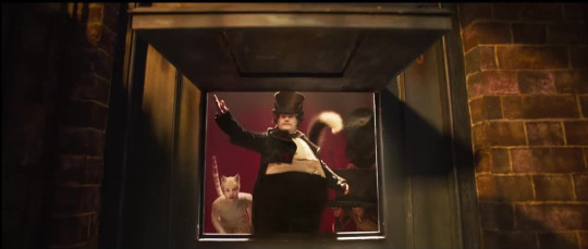 James Codren as Bustopher Jones in the trailer for Cats