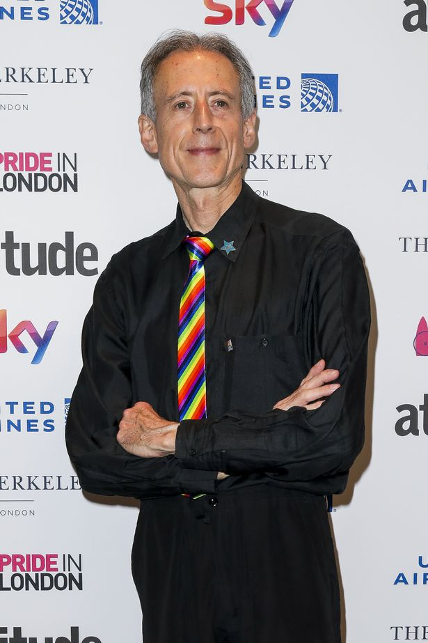 Peter Tatchell attends the Attitude Pride Awards 2018