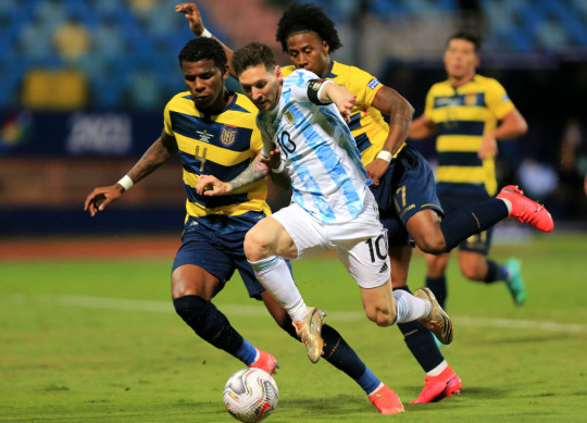 Lionel Messi is currently starring for Argentina at the Copa America