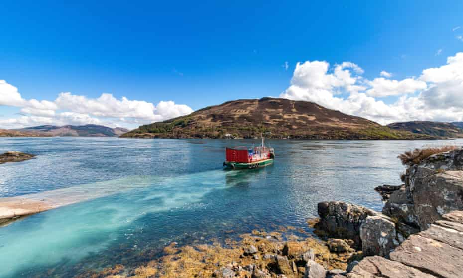 The Glenelg-Skye ferry.