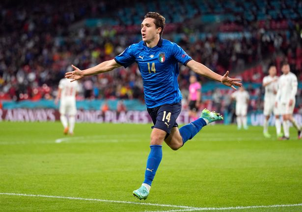 Federico Chiesa was a star for Italy at Euro 2020