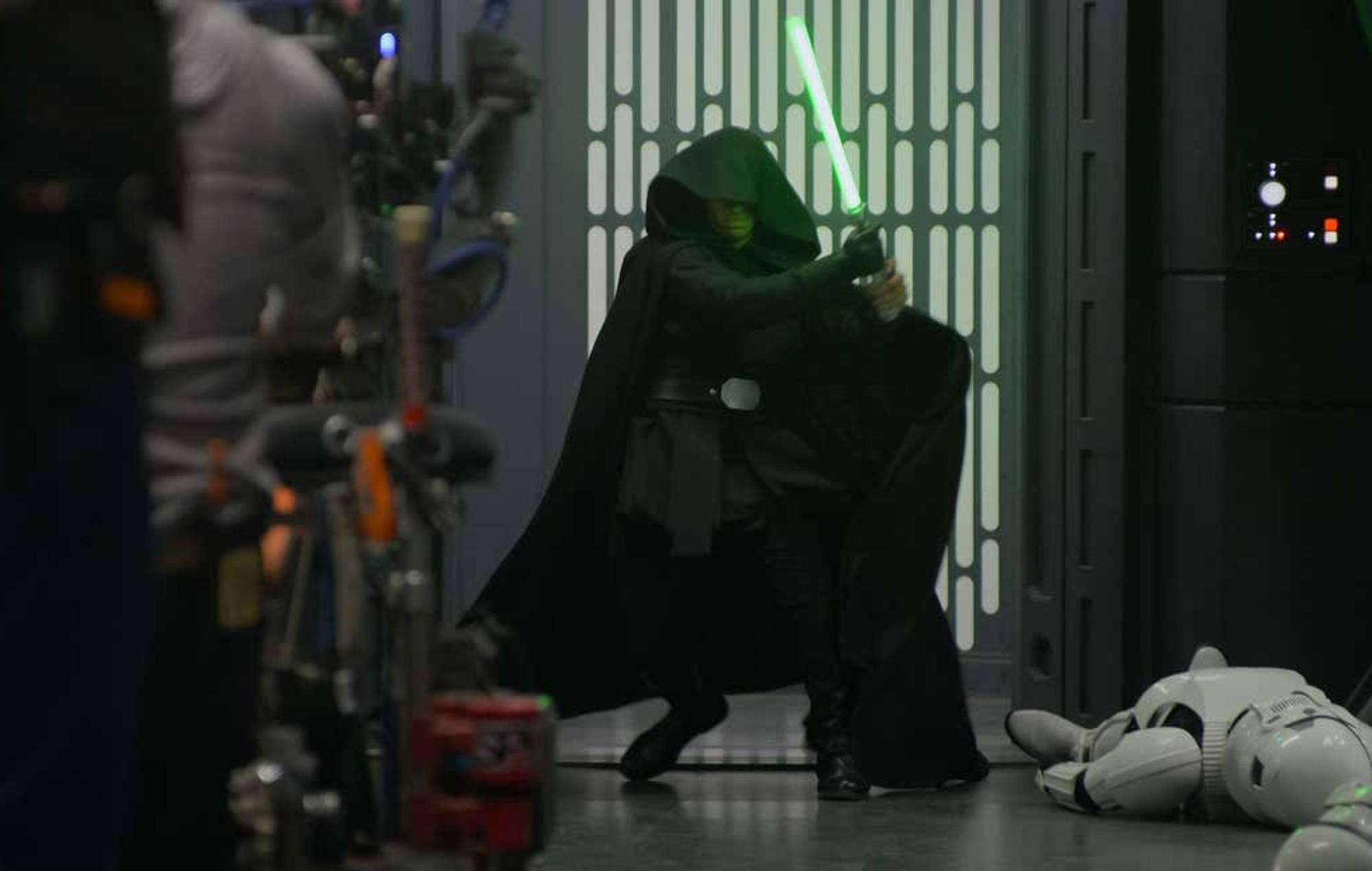 Luke Skywalker in The Mandalorian