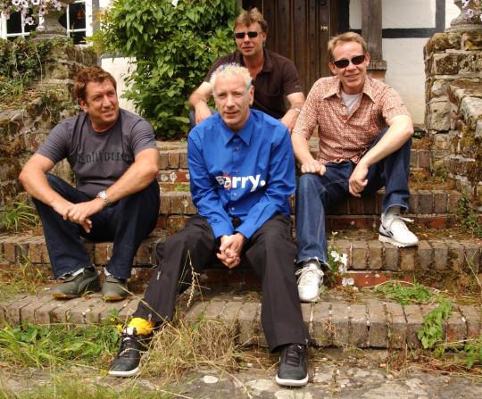 Sex Pistols, from left to right; Steve Jones John Lydon, Glen Matlock and Paul Cook.