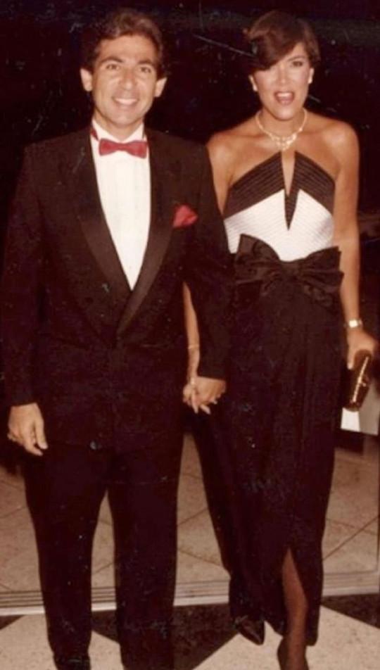 Robert Kardashian and Kris Jenner