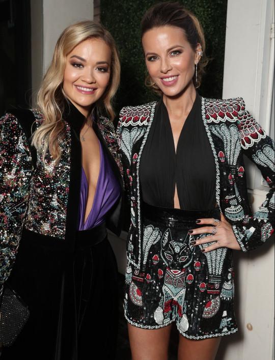 Rita Ora and Kate Beckinsale
