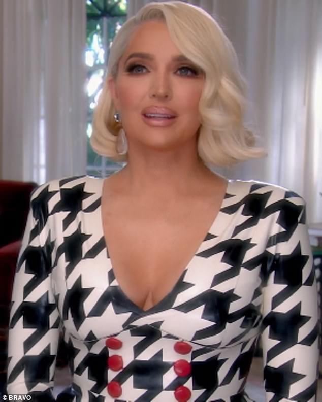 'Silly as f***':On last week's episode of The Real Housewives Of Beverly Hills Erika Jayne denied rumors that she had an affair with Scooter