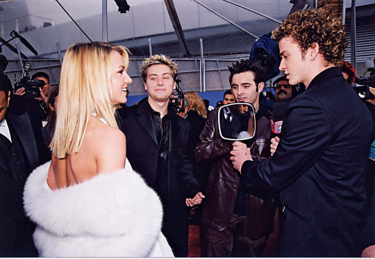 Britney Spears, Lance Bass, Chris Kirkpatrick & Justin Timberlake