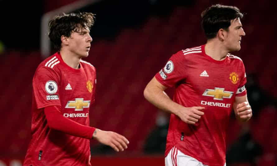 Manchester United need to improve on a centre-back partnership of Victor Lindelöf (left) and Harry Maguire.