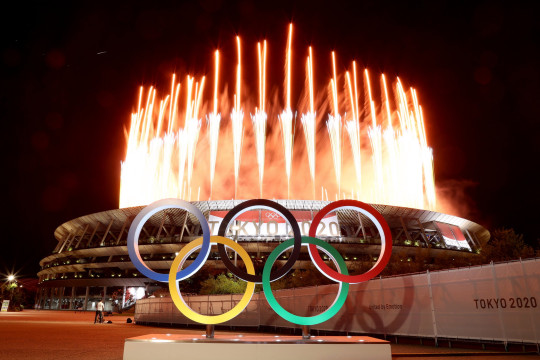 The Olympics were declared open after a spectacular opening ceremony