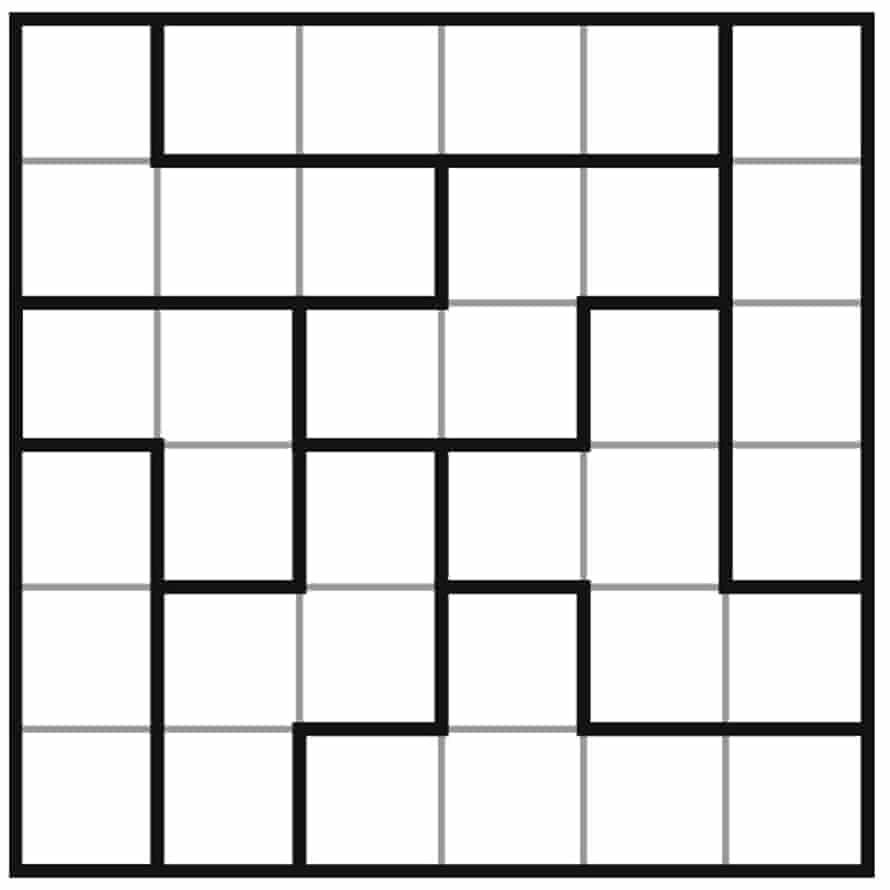 clueless sudoku 6x6